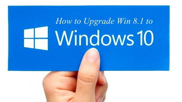 how to upgrade windows 8.1