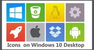 Add Icons to Desktop Windows 10 | Desktop Icons | Windows 10