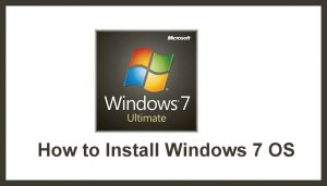 How to Install Windows 7 | Windows 7 | Windows OS | Operating System | Windows Installation