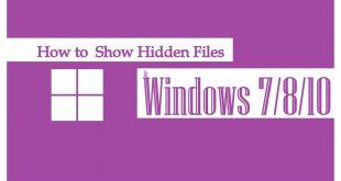 Show Hidden Files   Show Hidden Files Windows 10   Show Files