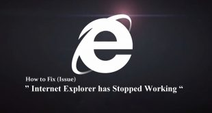 Internet Explorer has Stopped Working | Internet Explorer | IE Issue | IE Error