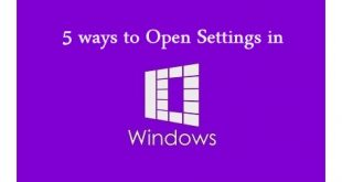 Windows 10 Settings | Windows 10