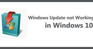 Windows Update not Working in Windows 10   Windows Updates   Windows 10