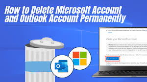 How to delete a Microsoft Account