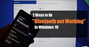 2 Ways to Fix Bluetooth Not Working on Windows 10 | Windows 10 Bluetooth | Windows 10 Bluetooth Not Working
