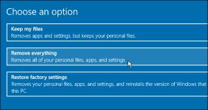 how to factory reset windows 10 | Windows 10