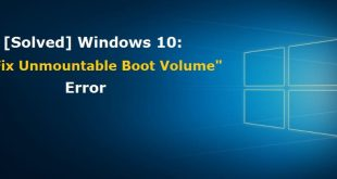unmountable boot volume windows 10 | Windows 10 | Boot Volume Windows | Unmounted Boot