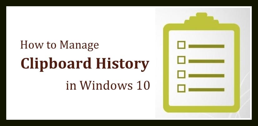 Windows 10 Clipboard History | Windows 10 Clipboard | Clipboard History