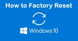 how to factory reset windows 10 | Windows 10 | Factory Reset