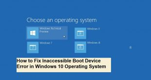 inaccessible boot device windows 10 | Bootable Device | Windows 10 Error | Access Error