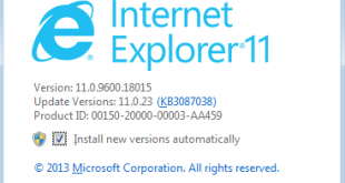 Internet Explorer | Internet Explorer update for Windows 7