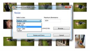 How to resize photos in windows 10 1