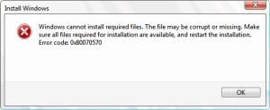 error 0x80070570 the file or directory is corrupted and unreadable,error code 0x80070570 windows 10,error code 0x80070570,error 0x80070570 windows 7,